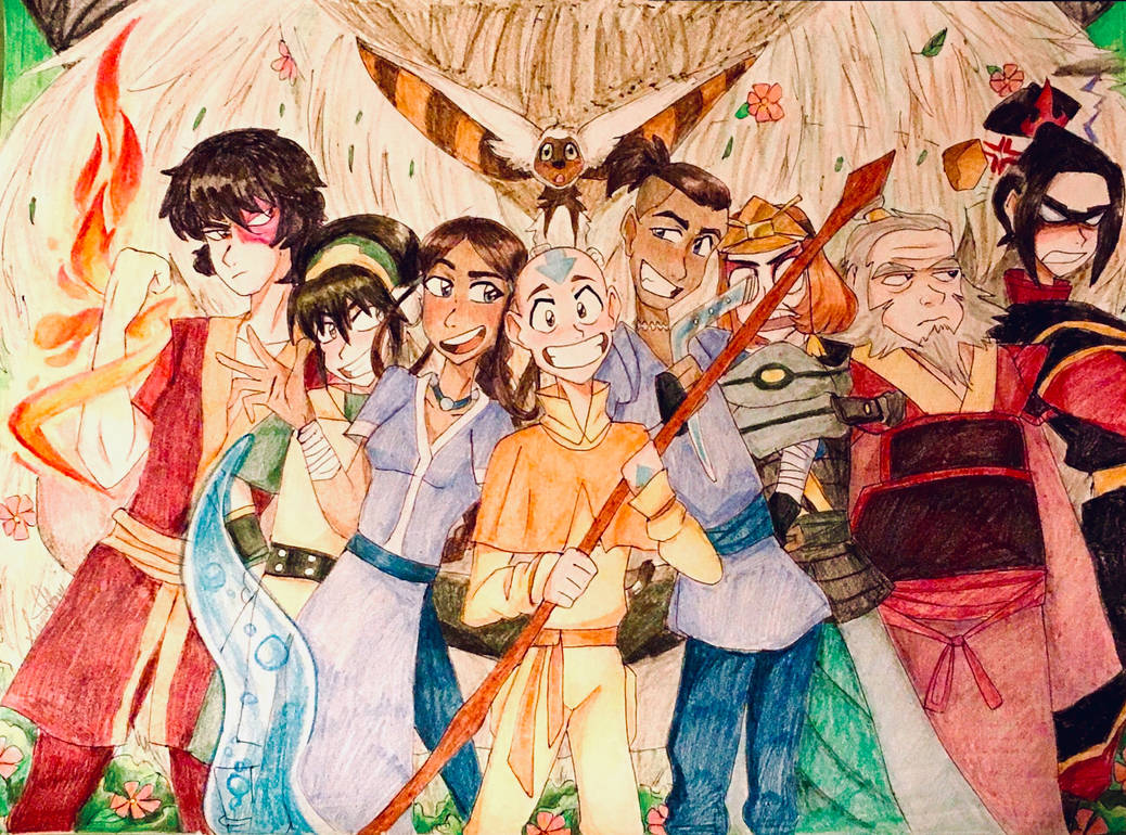 Avatar the last airbender by artfrog75
