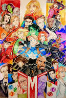 Marvel Cinematic Universe by Artfrog75