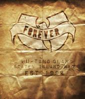 Wu-Tang Clan old paper