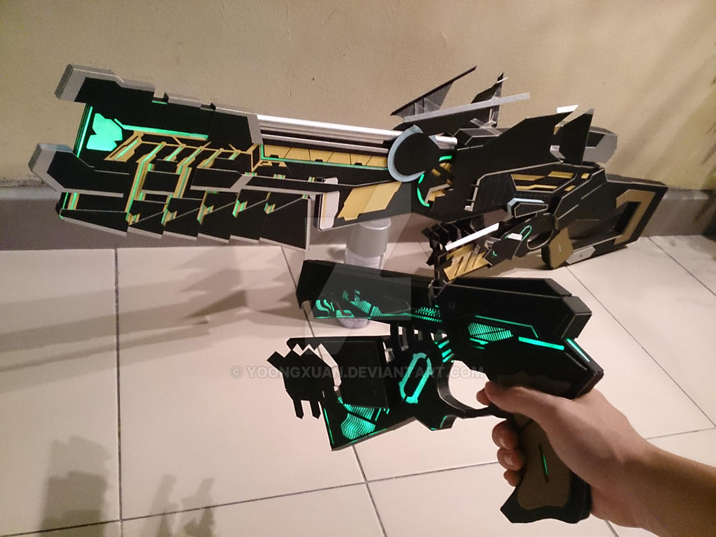 Psycho Pass 2 Assault Dominator Lethal Eliminator By Yoongxuan On
