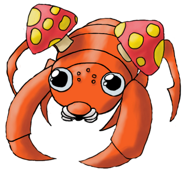 Paras 151 Pokemon by 151 Artists by HisGeenky