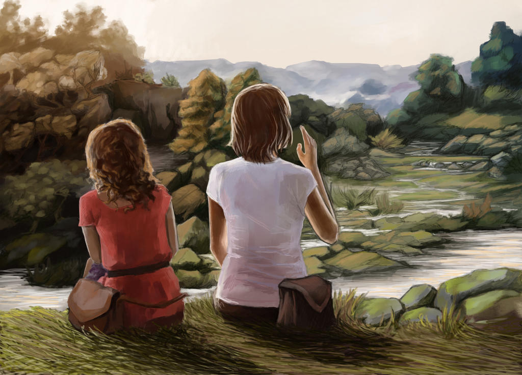 In the Park by Elvarnya