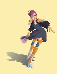 Roller Derby by Clock-Dream
