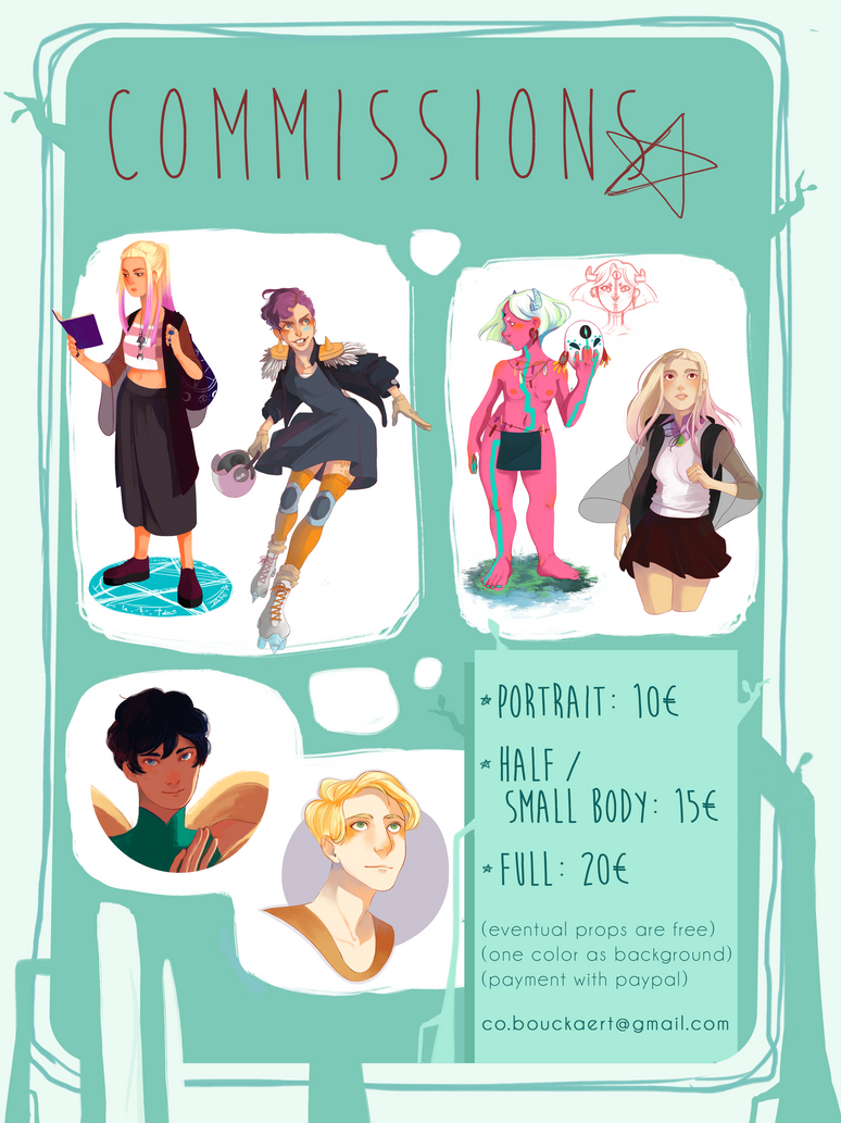 Comissions Info by Clock-Dream
