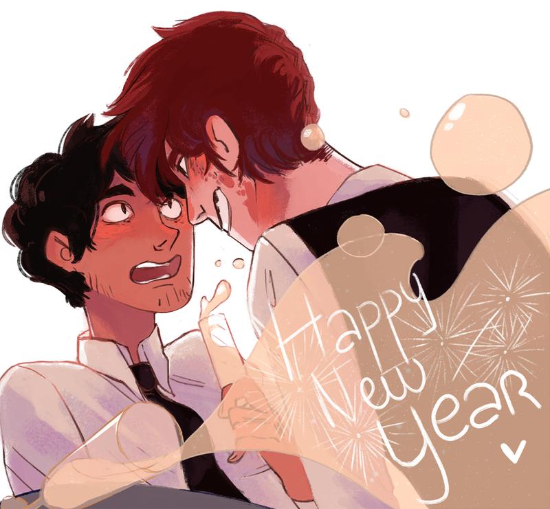 HAPPY NEW YEAR by Clock-Dream