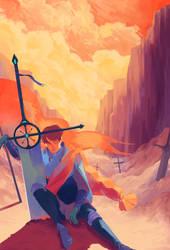La croix du chevalier by Clock-Dream