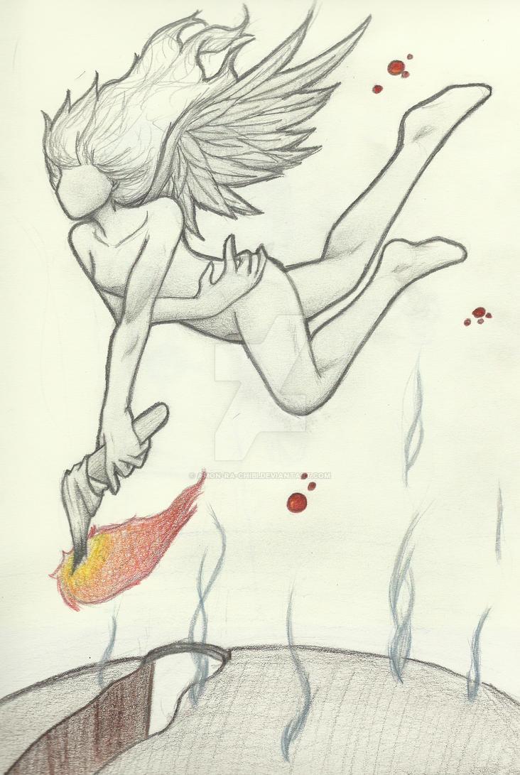 Burning in the Skies by amon-ra-chibi