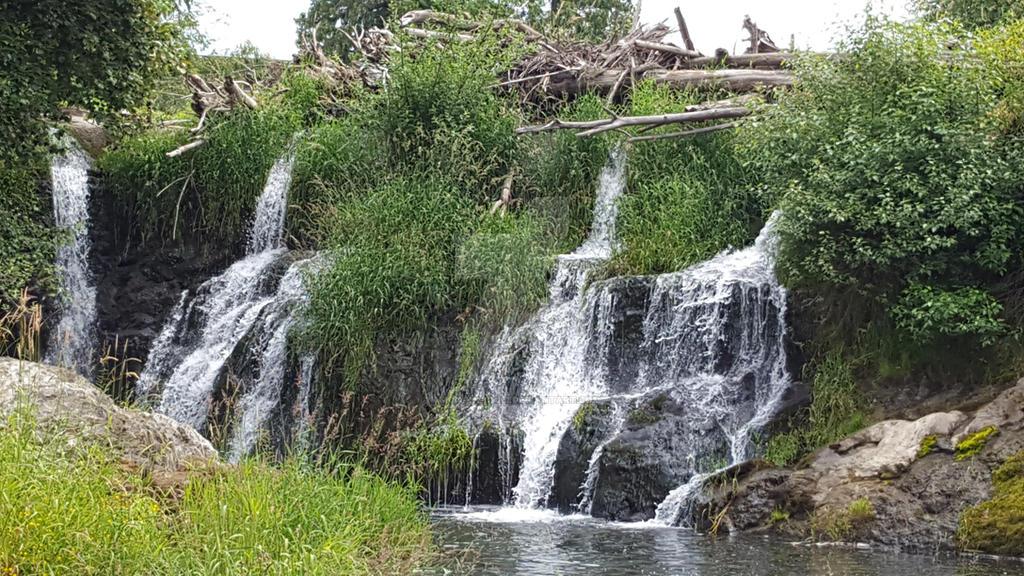 Tumwater Falls by amon-ra-chibi