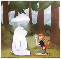 Ice Bear and Vivitt