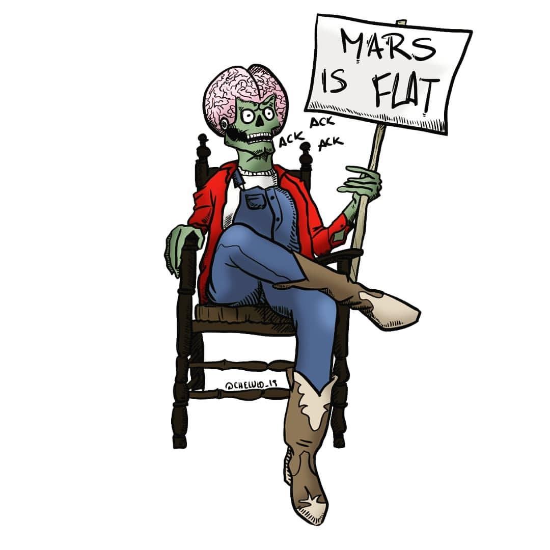 DECALS - Mars is Flat!