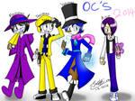 FanArt::New OCs 2014 by Sitinuramjah