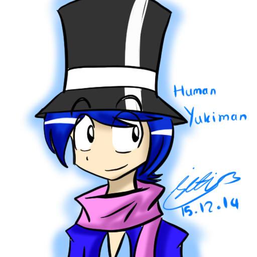 FanArt::OC Human Yukiman by Sitinuramjah