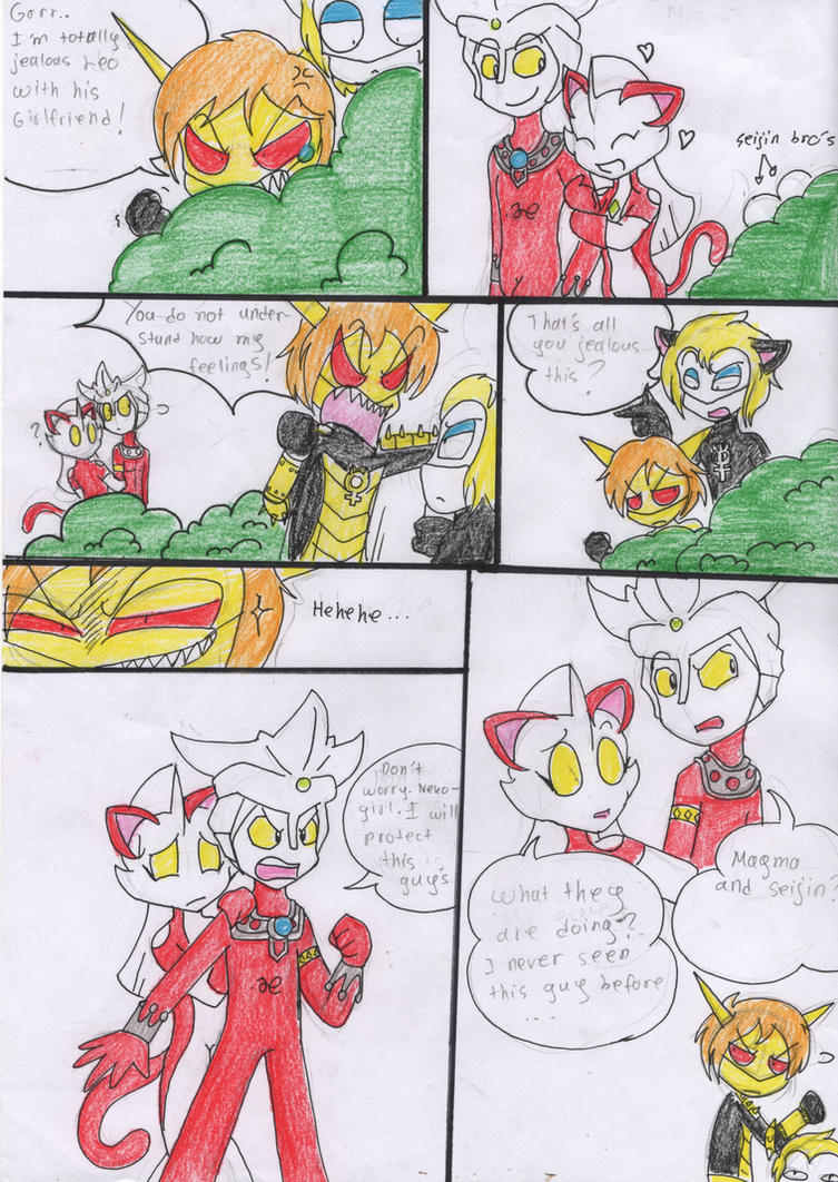 FanComic::Two Ultra's Kidnapped 1 by Sitinuramjah