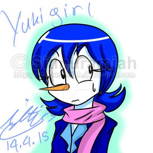 FanArt::Female Yukigirl by Sitinuramjah