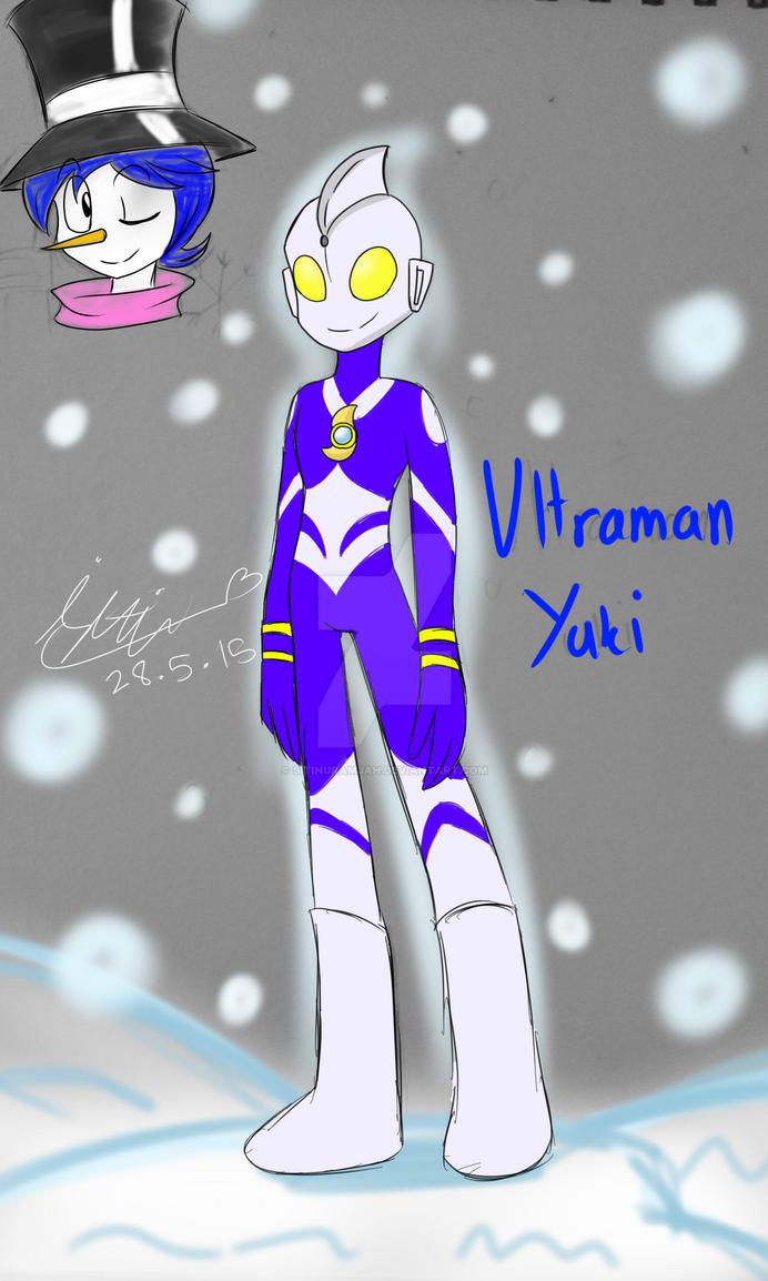 FanArt::OC Ultraman Yuki by Sitinuramjah