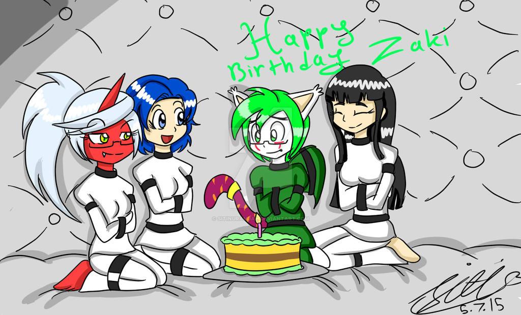 PC::Birthday Zaki by Sitinuramjah
