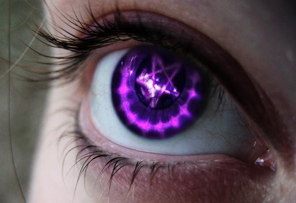 Resultado de imagem para pentagram eye