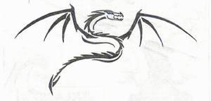 Tribal Serpent Dragon