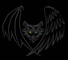 Wolf Head Sigil by StormRaven333