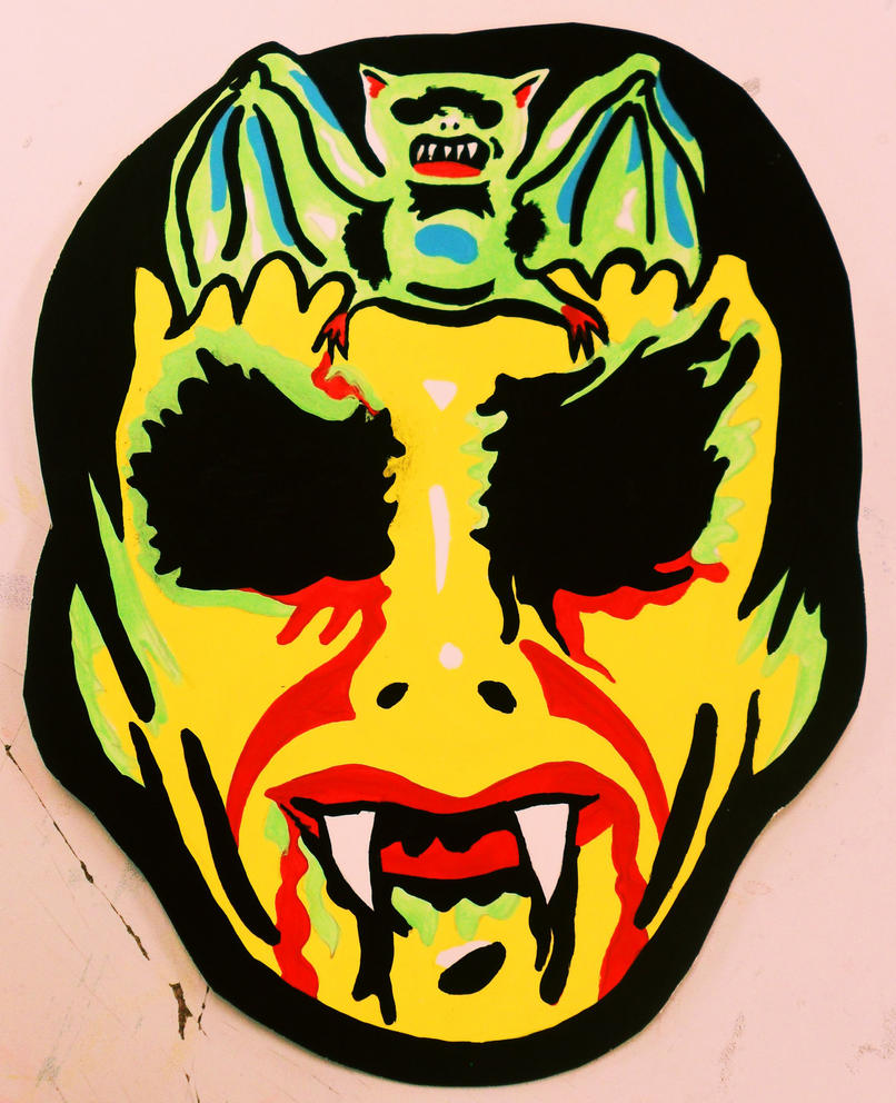 Barnabas Collins Vintage Halloween Mask By Insert Name