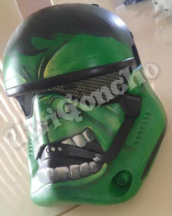 Hulk Helmet by UwiGoncho
