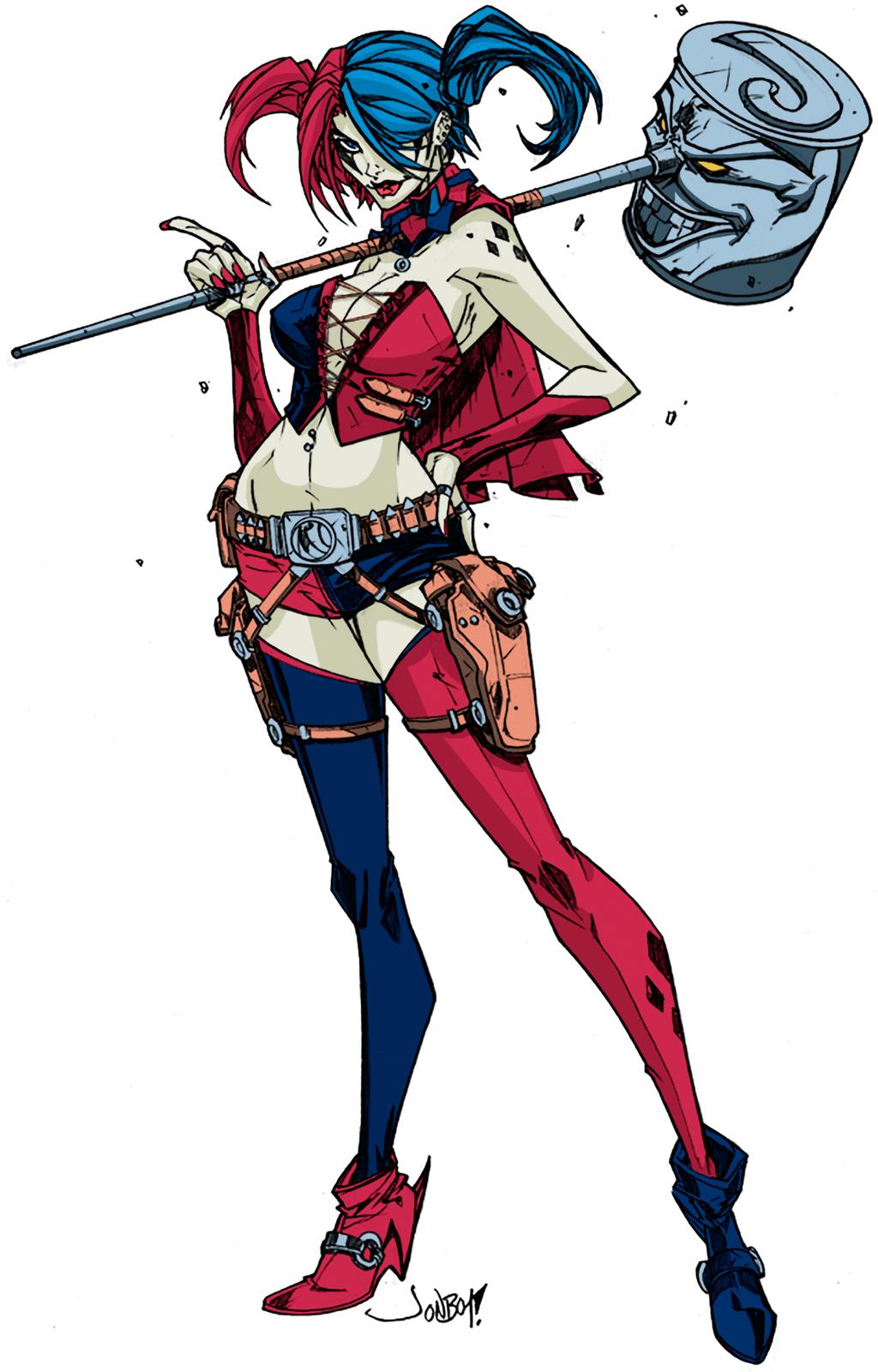 Harley Quinn New 52 by MaFLasd on DeviantArt