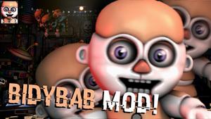 [FNaF Mod]Bidybab in UCN!