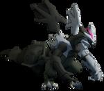 [Pokemon SFM] Shiny Black Kyurem Render