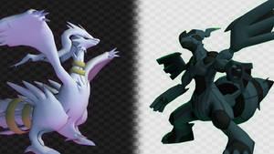 [Pokemon SFM](S) Pokemon Black and White Wallpaper