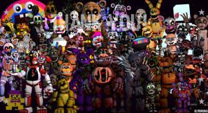 [FNaF SFM] Ultimate Modded Night''Thank you!''