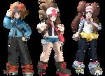 [Pokemon SFM] Pokemon Masters Unova Protags