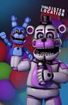 [FNaF SFM] Funtime Freddy Poster Recreation