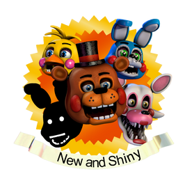 [FNaF SFM] ''New and Shiny'' Achievement