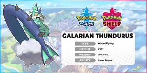 [Pokemon Edit] Galarian Thundurus