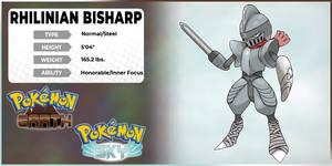 [Fakemon Concept Edit] Rhilinian Bisharp