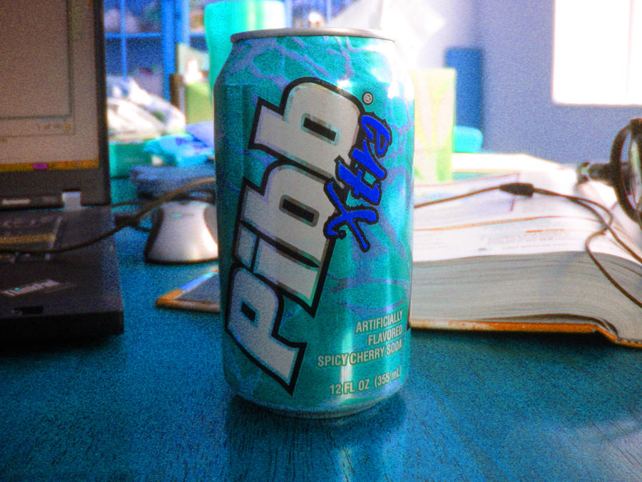 pibb xtra can of epicness by fatedarknudragoon on