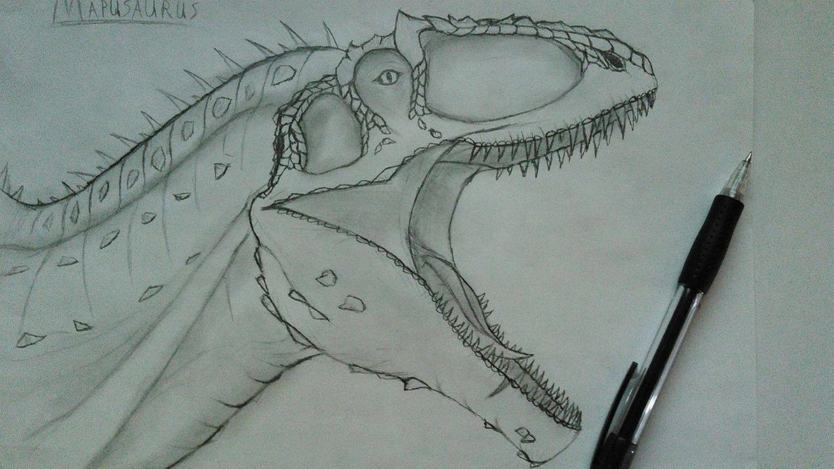 Mapusaurus - Head by Fate-Darknu-Dragoon