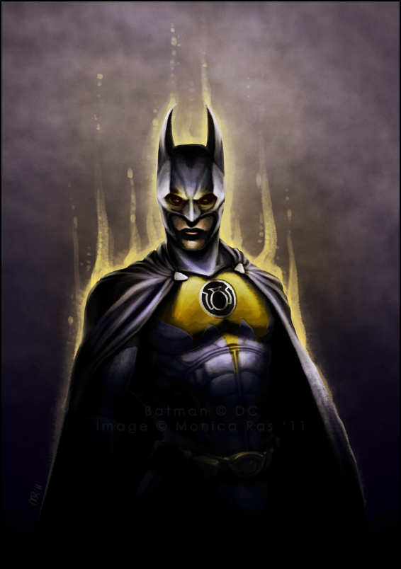 Yellow Lantern Batman Arkham City Batman Yellow Lantern Arkham
