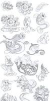 Gen 5 Pokemon Sketch Dump - Part 3