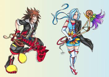 Trashsona Challenge: Kingdom Hearts by Angel-Moonlightwolf