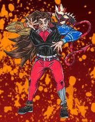 Trashsona Challenge: JoJo (Hunter) by Angel-Moonlightwolf