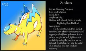 #039 Zapibara Fakemon