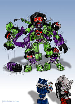 An early attempt on Project Devastator