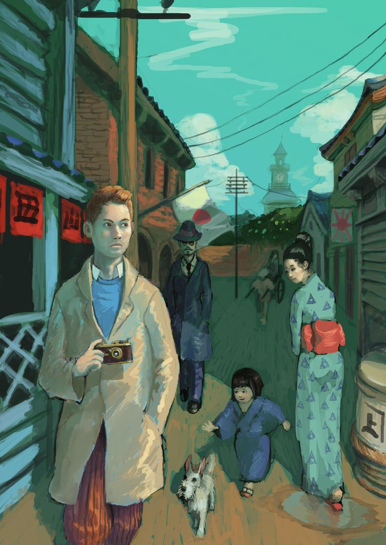 the adventures of tintin in yokohamafuderiki on deviantart