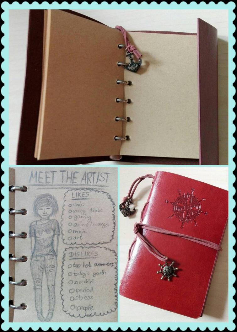 My New Little Sketchbook by 4ntoniax3
