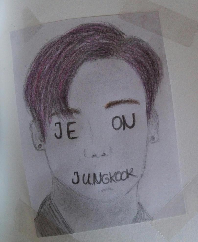 Jeon Jungkook by 4ntoniax3