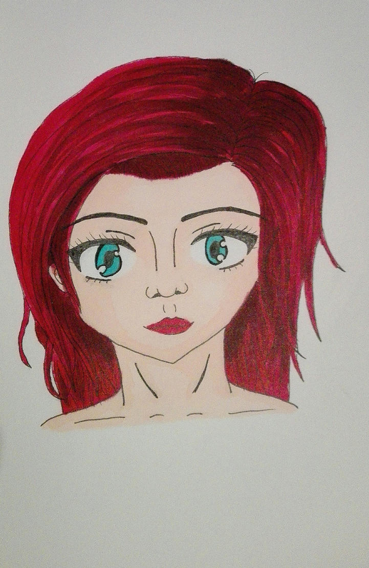 Red Haired Girl by 4ntoniax3