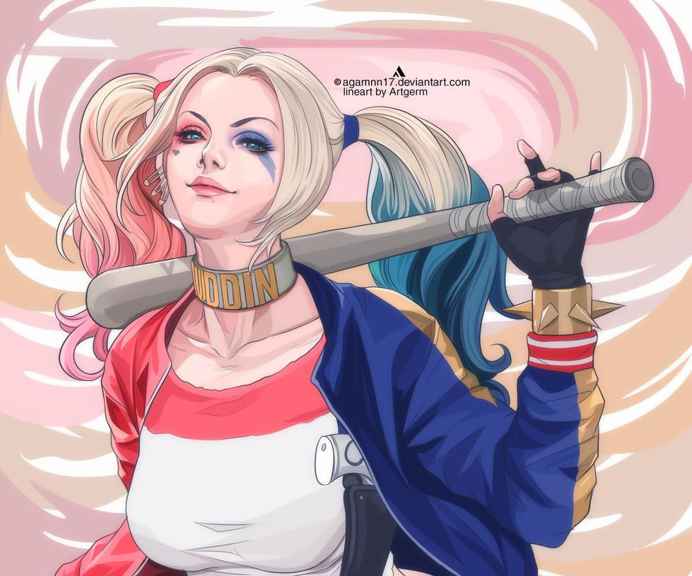 Harley Quinn by Agamnn17