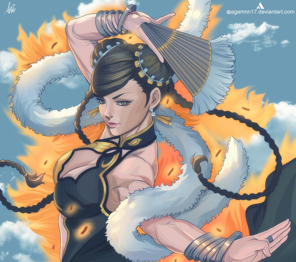 Chun Li by Agamnn17