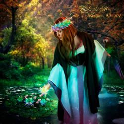 Lotus Lady by Zankruti-Murray